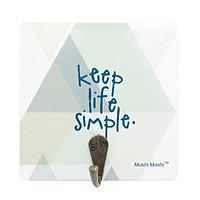 Vỉ Treo Gỗ Moshi Hình Vuông - Keep Life Simple