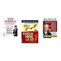 Combo 3 cuốn sách: Làm Chủ Nghệ Thuật Bán Hàng  + Khách Hàng Là Số 1 + Nghệ Thuật Bán Hàng Bậc Cao (Khổ Lớn)