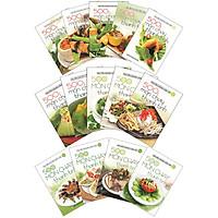 Combo 14 Cuốn: 500 Món Chay Thanh Tịnh (Tập 1 Đến Tập 14)