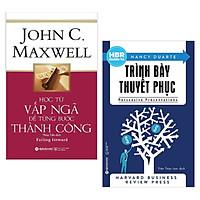 Combo 2 Cuốn Sách Kỹ Năng Làm Việc Hay: Học Từ Vấp Ngã Để Từng Bước Thành Công (Tái Bản 2018) + HBR Guide To – Trình Bày Thuyết Phục (Tái Bản 2018) / Sách Kỹ Năng Làm Việc Để Thành Công - Tặng Bookmark Happy Life