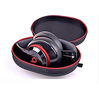 Matte Zipper Earphones Carrying Case for Beats  by Dr.Dre Studio, Solo Wireless, Solo, Solo HD Over-ear Headphone Replacement Case Pouch Bag Box