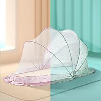 Màn chụp cho bé gấp gọn, mùng chụp cho bé chống muỗi, dùng cho giường và nôi cũi
