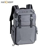 K&F CONCEPT Camera Backpack Photography Storage Bag Waterproof with Removable Divider Lock Buckle
