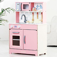 Đồ chơi bếp hồng cao 83cm