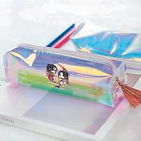 Hộp bút trong hologram IN HÌNH Thiên Quan Tứ Phúc manhua đam mĩ chibi