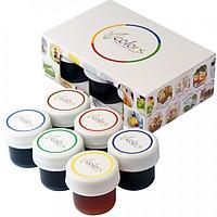 Màu thực phẩm VCOLORS hộp 6 màu