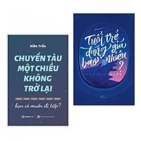 Combo 2 Cuốn Kỹ Năng Sống Không Thể Bỏ Lỡ: Chuyến Tàu Một Chiều Không Trở Lại + Tuổi Trẻ Đáng Giá Bao Nhiêu (tặng kèm bookmark thiết kế aha)