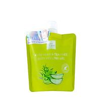 Gel tẩy da chết toàn thân lô hội và trà xanh Baby Bright Aloe Vera and Tea Tree Body Peeling Gel 200ml