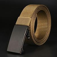Thắt lưng nam vải bố,dây nịt nam vải dù khóa chống gỉ siêu bền cao cấp R15