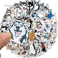Set 60 Sticker Chó Husky