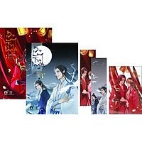 Du Long Tùy Nguyệt (Tập 3 +4) (Tặng Kèm: Postcard PVC + 2 Bookmak)