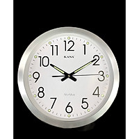 Đồng hồ treo tường KN-S25w dạ quang (38cm)