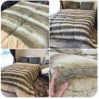 Chăn lông cừu Úc - chăn dày ấm dành cho mùa đông GD169