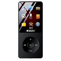 Sharp (RUIZU) X02 8G black with Bluetooth sports MP3/MP4 music player mini student Walkman portable e-book English listening card recorder