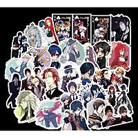 Set 30 Sticker Hắc Quản Gia ảnh có ép lụa Kuroshitsuji ( mẫu giao ngẫu nhiên )