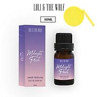 Nước hoa vùng kín nữ Midnight Forest Eau De Parfum - chai chấm 10ml - LOLI & THE WOLF, Tặng Kèm Mút Rửa Mặt