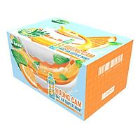 Thùng 24 chai Yomost Sữa Trái Cây Cam Bạc Hà