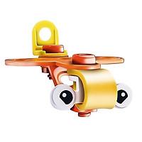 Đồ chơi phát triển kỹ năng Steam - Đồ chơi lắp ghép Build&Play - lắp ghép mô hình xe nâng - cần cẩu - ô tô - xe máy - máy bay Toyshouse 7703 - 7721 - 7722 -7754