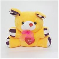 Gấu Bông Đeo Nơ I Love You Đáng Yêu
