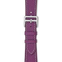Dây đeo đồng hồ 22-18 MM chính hãng HANHSON SP000718 EPSOM Tím cho Apple Watch
