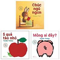 Combo Sách Lật Tương Tác Song Ngữ 0-3 Tuổi (Bộ 3 Cuốn)