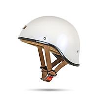 Mũ Bảo hiểm nửa đầu Bulldog Gang đủ màu: Đen nhám, đen bóng, trắng, bạc xước, đồng xước