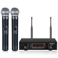 Hệ thống micrô không dây UHF cầm tay kép Phenyx Pro PTU-71A chính hãng với 2x200 kênh (530 - 580MHz)