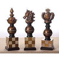 Bộ tượng ba quân cờ trang trí