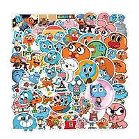 Sticker 50 miếng hình dán Gumball