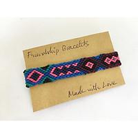 Vòng tay friendship handmade - Bộ 1 vòng (phát màu ngẫu nhiên)