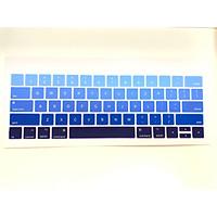 Miếng phủ bảo vệ bàn phím cho Macbook bằng Silicon chống nước, chống bụi bẩn màu Gradient