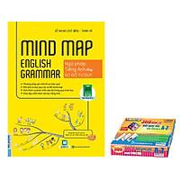 Mindmap English Grammar - Ngữ Pháp Tiếng Anh Bằng Sơ Đồ Tư Duy ( Tặng Kèm Hộp 360 Động Từ Bất Quy Tắc)