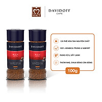 Com bo 2 lọ Cà phê hòa tan - Davidoff Café Rich Aroma  - 100g