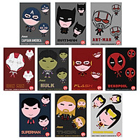 Combo 10 sticker single hình dáng - Siêu Anh Hùng - Chọn Ngẫu Nhiên