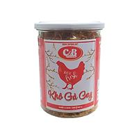 Khô Gà Cay C&B Hộp 150 Gram