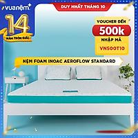Nệm Foam Nhật Bản cao cấp Aeroflow Standard mềm mại, êm ái, nâng đỡ tối đa, thoáng khí cao - Cảm hứng từ giấc ngủ
