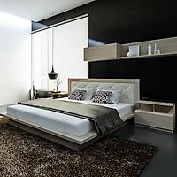 Giường ngủ cao cấp phong cách Nhật Bản - Thương hiệu alala.vn (1m6x2m)