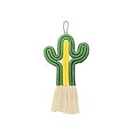 Hand-woven Cotton  Rope   Cactus  Pendant Home  Decoration Wall Pendant Ornament