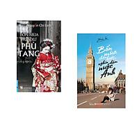 Combo 2 cuốn sách: Bốn Mùa Trên Xứ Phù Tang + Bốn Mùa Chân Bước, Nghìn Dặm Nước Anh