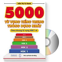 5000 từ vựng tiếng Trung thông dụng nhất + DVD quà tặng
