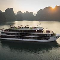 Trải Nghiệm Tour 2N1Đ Ngủ Đêm Trên Du Thuyền 5 Sao Dora Cruises Sang Trọng (Khám Phá Vịnh Hạ Long - Vịnh Lan Hạ, Chèo thuyền kayak, Câu Mực Đêm, Tắm Vịnh)