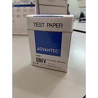 Giấy đo pH UNIV ADVANTEC, thang đo 1-11, dạng tệp