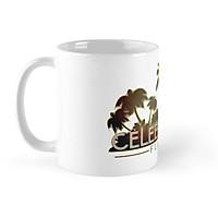 Cốc sứ in hình - Celebration Palm Tree Design Mug - - Best Gift For Family Friends- MS 1213