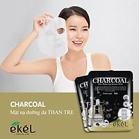Combo 10 mặt nạ dưỡng da tặng 3 mặt nạ dưỡng da bất kỳ EKEL Charcoal ULtra Hydrating Essence Mask