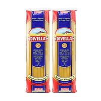 Combo 2 Mì Ý Sợi Tròn Spaghetti Divella Số 8 500gr
