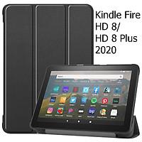 Bao Da Cover Cho Máy Tính Bảng Amazon All-new Kindle Fire HD 8 2020 Hỗ Trợ Smart Cover
