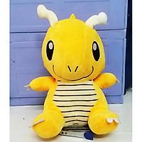 Gấu Bông Pokemon - Rồng Dragonair (35 Cm) Gb220 (Tặng 1 Móc Khóa Dây Da Pu Đính Đá Lấp Lánh)