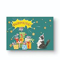 Thiệp tặng sinh nhật Suprise Maisen