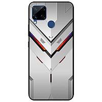 Ốp lưng dành cho Realme C15 mẫu Mặt Nạ Trắng