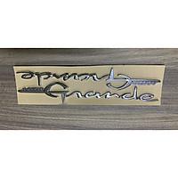Tem chữ nổi dành cho xe Grande, Luvias, Vespa